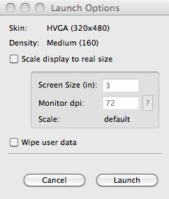installer android sdk mac os x